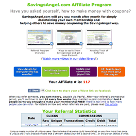 Earn ongoing affiliate revenue with SavingsAngel Blogger Affiliate Money