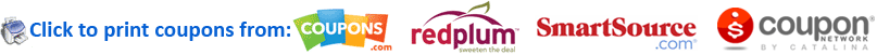 Free Printable Coupons smartsource coupons.com redplum