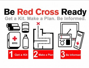 Be Red Cross Ready and save money getting there.