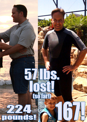 57 pounds lost so far