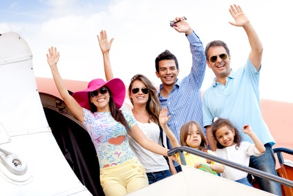 family airplane ticket savings save money discounted tickets