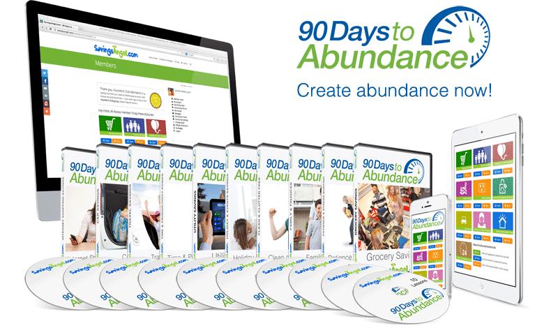 create abundance now how to get organized money tips