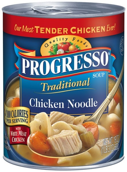 Progresso Soup for free almost