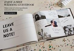 Shutterfly FREE Wedding Guest Book
