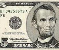 $5 partial bill