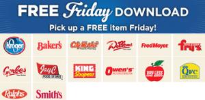 Kroger_free Friday