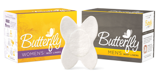 Butterfly liners