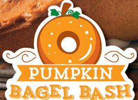Einstein Bros_pumpkin bagel