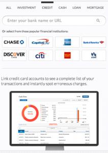 personal capital credit card debt review