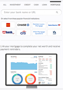 personal capital mortgage real estate zillow review