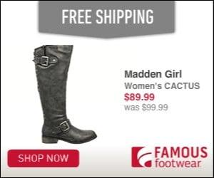 Famous Footwear - Black Friday Sale
