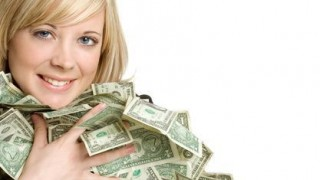 woman-dollars-bunches of money