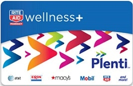 RiteAid_Plenti card