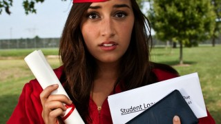 Graduate-student loan-unhappy