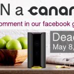 Win a canary home security camera with SavingsAngel