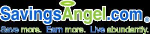 SavingsAngel logo print coupons