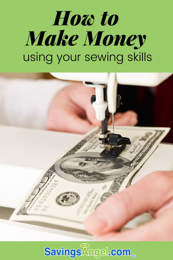 Sew for fun and profit how to make money using your for Craft businesses that make money
