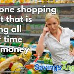 Frequent shopping wastes time and money grocery shopping. See the facts here.