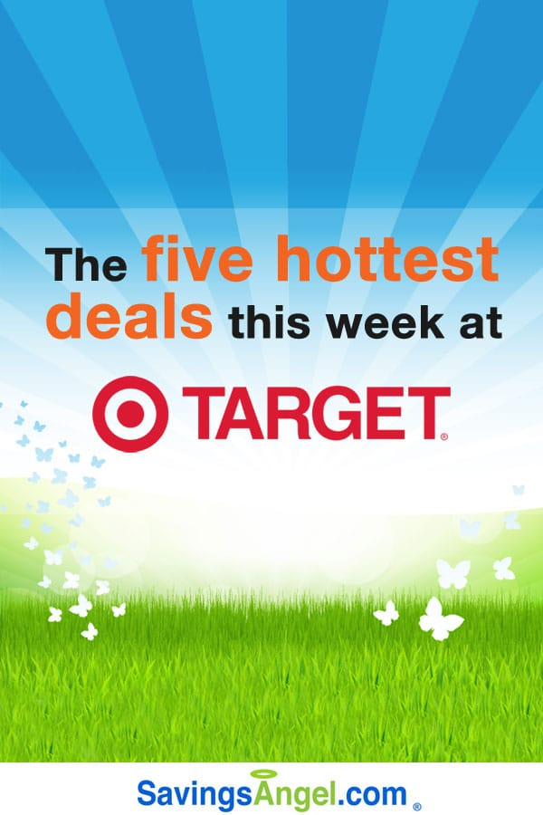 The five hottest deals this week at Target. (Plus where to find many more money-saving deals.)