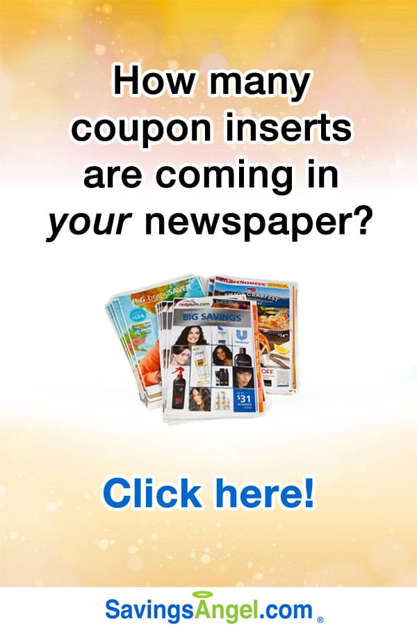 no coupons in sunday paper If you are new to couponing or, if you have couponed for a long time, chances are you have (at some point) gotten coupons from the sunday newspaper.