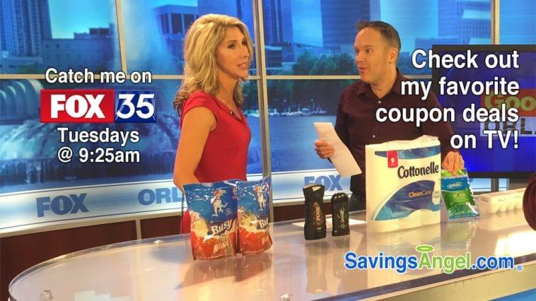 coupon deals on TV Orlando Fox 35
