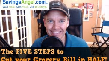 5 steps to cut your grocery bill in HALF!