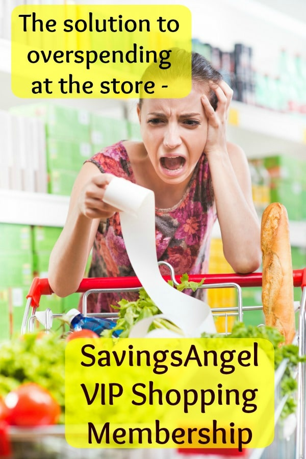overspending at the store