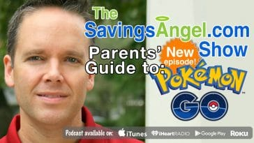 Parents Guide to Pokemon Go! Including VERY important safety information. Shopping with kids tips.