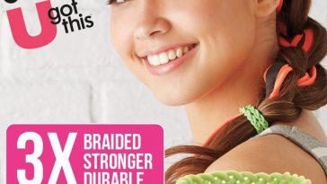Scunci braided hair bands
