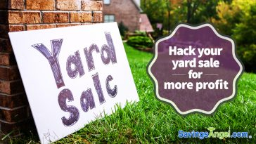Hack your yard sale for more profit