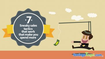 sneaky sales tactics that make you spend more
