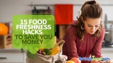food freshness hacks to save you money
