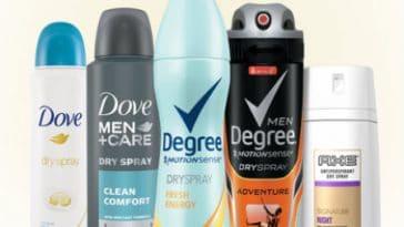 Dry-spray-antiperspirant