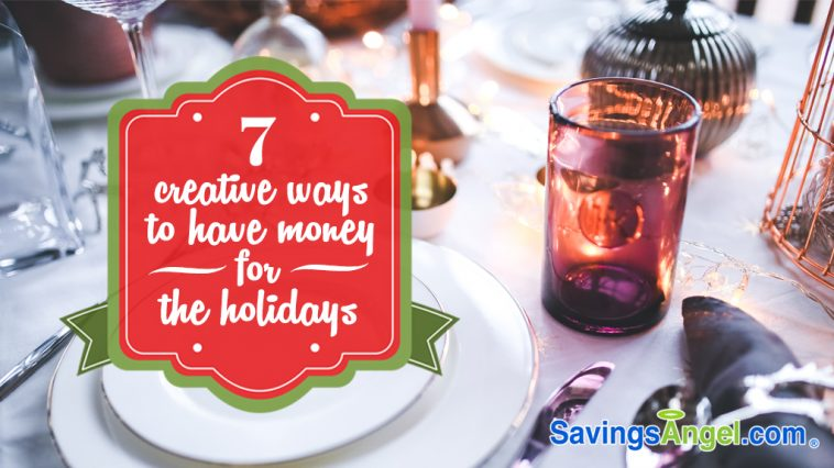7 creative ways to save money for holidays