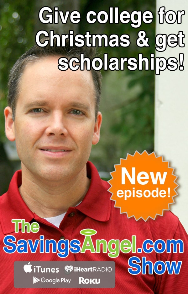 Give college for Christmas & get scholarships!
