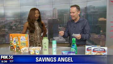 Christmas coupon deals grocery shopping on Fox 35 Orlando