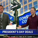 Josh on TV presidents day sale