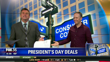 Josh on TV presidents day sale