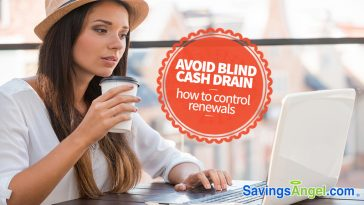Avoid Blind Cash Drain