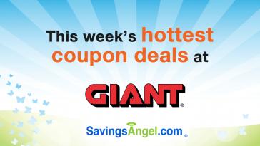 Giant food stores coupon savings