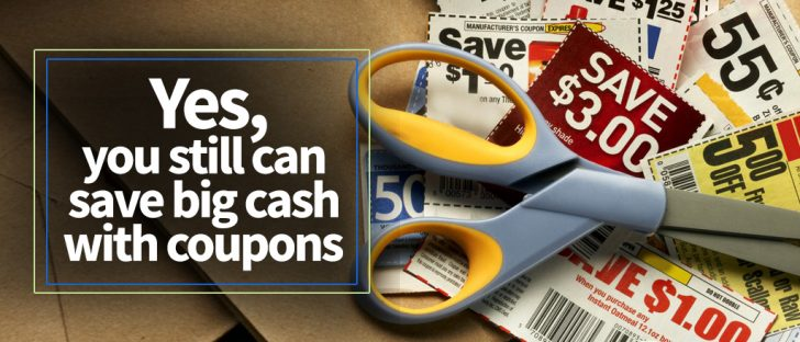 yes you still can save big cash with coupons
