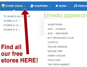 Best Coupon Sites Extreme Couponing And Supermarket Savings