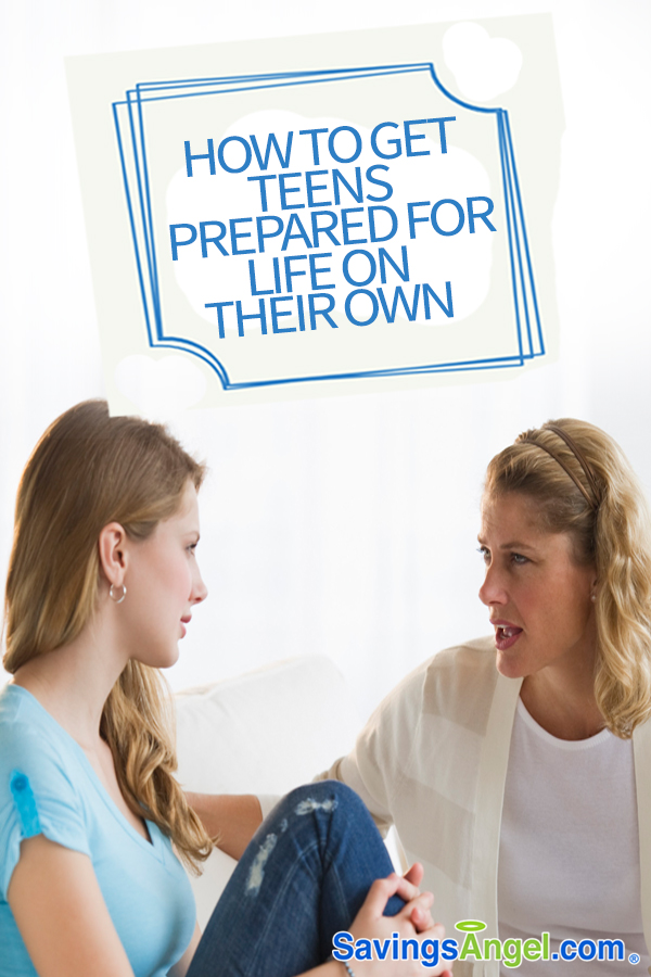 mom talking to teenage daughter teens prepared for life