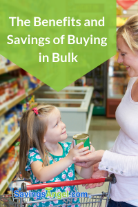 The Benefits and Savings of Buying in Bulk