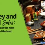 money and yard sales